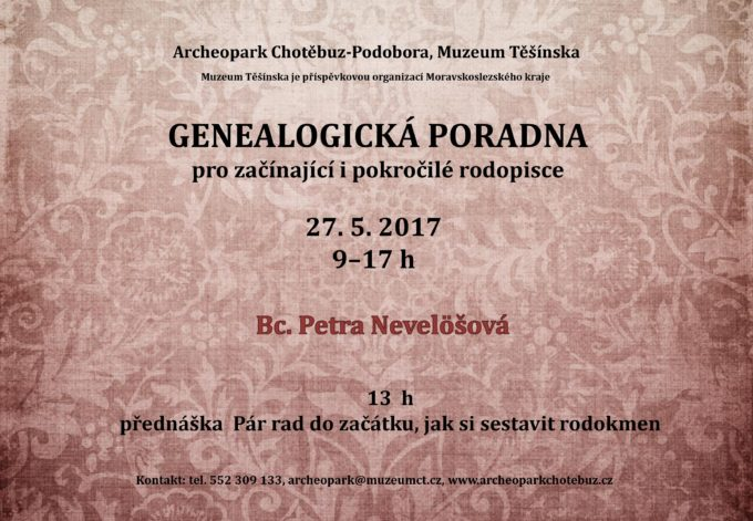 Genealogická poradna