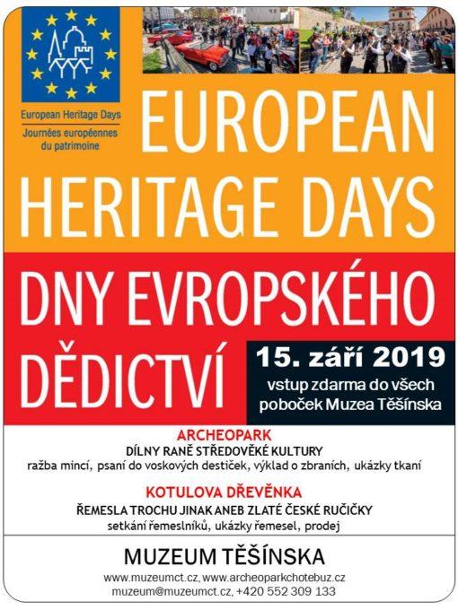 Dny evropského dědictví – vstup zdarma do všech poboček Muzea Těšínska